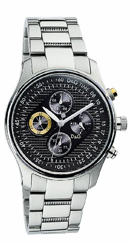 D & G Watch Mentone Chr Ss Anthracite Dial Brc Dw0430