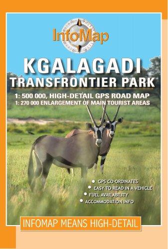 Kgalagadi Transfrontier Park Gps Rv Info