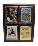 Green Bay Packers Football All-Time Greats Wood Framed Sports Plaque at Amazon.com