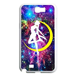 Manga Sailor Moon Usagi Tsukino Purple Galaxy Samsung Galaxy Note 2 N7100 Nice Durable Hard Case