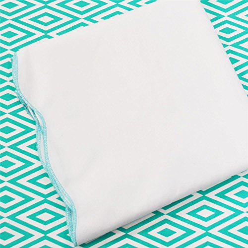 Oliver B 2-Piece Crib Bedding Set- Turquoise - 1