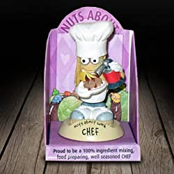 Nuts About Work Chef Figurine