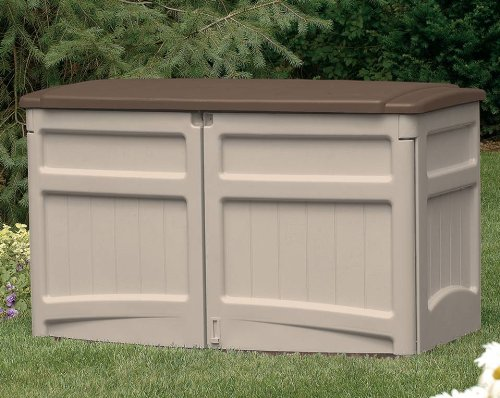 Suncast GS1000B Horizontal Storage Shed, 20-cubic