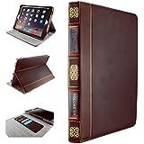 Alienwork Schutzh�lle f�r iPad Air St�nder H�lle Case Tasche Etui Sleeve Retro Leder braun AD503-01