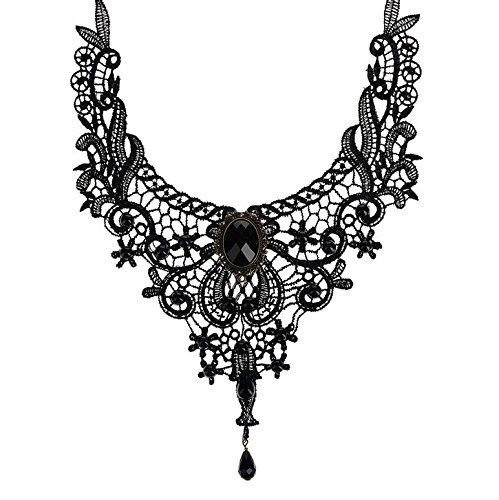 Jooest-9-Pieces-Choker-Necklace-Set-Stretch-Velvet-Classic-Gothic-Tattoo-Lace-Choker-Necklaces-For-Lady