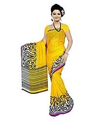 Designer Sari Classy Printed Casual Wear Faux Georgette Saree By Triveni