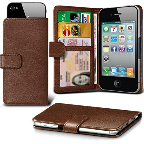 -brown-154-x-74-case-for-blu-vivo-6-case-cover-pouch-high-quality-thin-faux-leather-holdit-spring-cl
