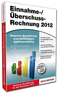 Einnahme-/Überschussrechnung 2012