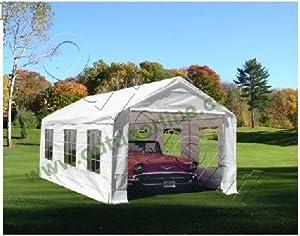 Quictent 3x6 Meter White Portable Garage Carport Party ...
