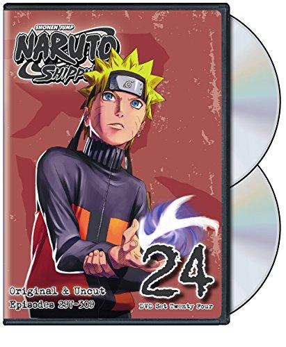 Naruto Shippuden Uncut DVD Set 24