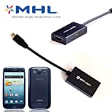 volans 1080P MHL to HDMI HDTV CABLE ADAPTER For Samsung Galaxy S5 Tab 3