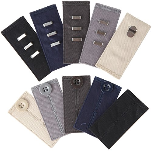 Home-X Easy Fit Hooks & Buttons. Extend Your Trousers or Skirt 1/2
