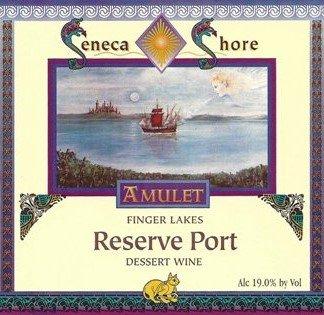 Nv Seneca Shore Wine Cellars Reserve Port, Finger Lakes, Sweet Desert Wine, 750 Ml