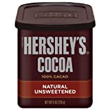 Hershey's Natural Unsweetened Cocoa, 8-Ounce Cans (Pack of 6)