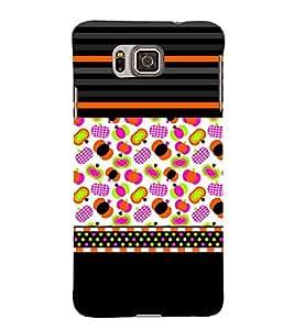 Vegetable Clipart Design Cute Fashion 3D Hard Polycarbonate Designer Back Case Cover for Samsung Galaxy Alpha :: Samsung Galaxy Alpha S801 :: Samsung Galaxy Alpha G850F G850T G850M G850FQ G850Y G850A G850W G8508S :: Samsung Galaxy Alfa