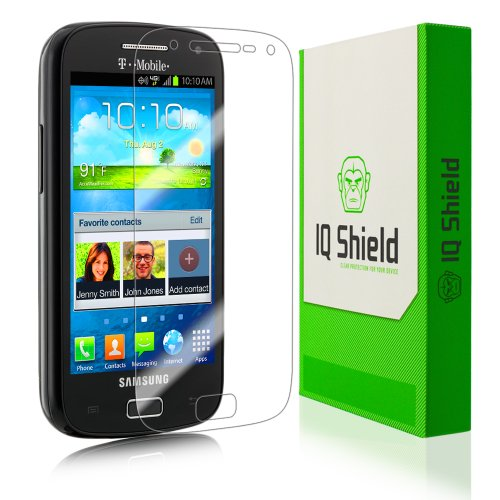 Iq Shield Liquidskin - Samsung Galaxy S Relay 4G Screen Protector - High Definition (Hd) Ultra Clear Phone Smart Film - Premium Protective Screen Guard - Extremely Smooth / Self-Healing / Bubble-Free Shield - Kit Comes With Retail Packaging And 100% Lifet