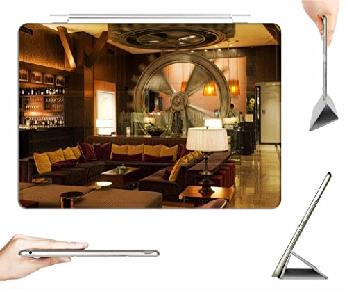 iRocket iPad Pro 9.7 Case + Transparent Back Cover, Da Vinci Styled Hotel Dallas, [Auto Wake/Sleep Function] (Hotel Dallas compare prices)