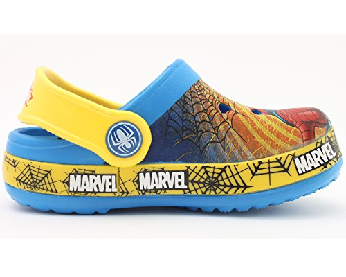 Spider-Man TURBO Boy's Clog Mule Sandals Shoes (Toddler/Youth) пластилин spider man 10 цветов