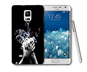 Snoogg High Five Printed Protective Phone Back Case Cover For Samsung Galaxy NOTE EDGE