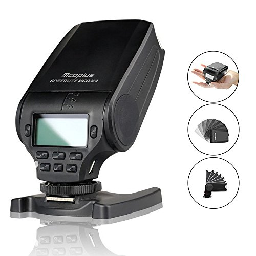 Mcoplus MK-320 TTL マスター GN32 フラッシュ スピード ライト Nikon J1 J2 J3 D7100 D5500 D5300 D5100 D5200 D5000 D3300 D3200 D3100 D750 D810 (MK-320N)