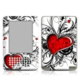 My Heart Design Protective Decal Skin Sticker for Amazon Kindle 2 E-Book Reader (2nd Gen)