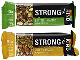 Strong and Kind Bars Variety, Pack of 10