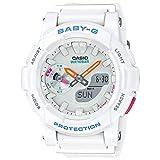 Casio Baby-G CC Series White Multi Dial Resin Quartz Ladies Watch BGA185-7A