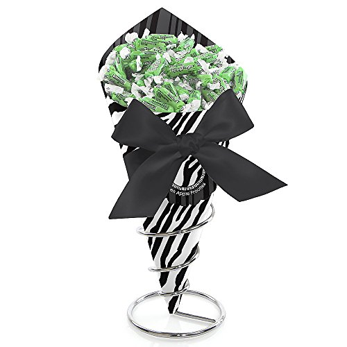 Zebra - Baby Shower Candy Bouquet With Frooties front-722476