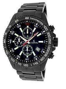 Le Chateau Men's 7080mgunmet_blk Sport Dinamica Black Watch