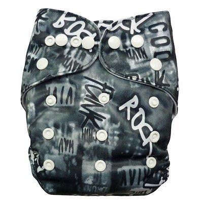 Alva Baby Y10 Reusable Baby Cloth Diaper + 1 Insert