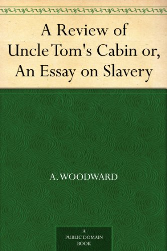 uncle toms cabin and the imagery english literature essay Stowe's 'uncle tom's cabin' (essay sample) instructions: this is the topic to write about: discuss the literary devices stowe used in uncle tom's cabin that succeeded in making the slavery issue vividly clear to the reader.