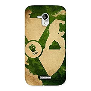 Stylish Huge Man Multicolor Back Case Cover for Micromax Canvas HD A116