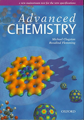 Advanced Chemistry (Advanced Science S), by Michael Clugston, Rosalind Flemming