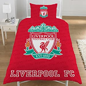 Liverpool FC Duvet Cover Bedding Set - Single - Liverpool FC from Official Football Merchandise