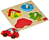 Jumbo D53015 - Holzpuzzle Zu Hause