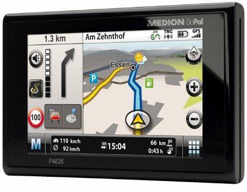 MEDION P4635 EU+ Navigation Navigationsgerät