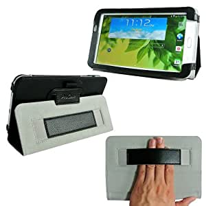 ProCase Samsung Galaxy Tab 3 7.0 Case - Flip Stand Leather Folio Cover for Samsung Galaxy Tab 3 7.0 Tablet Wifi 3G 4G LTE SM-T210R SM-T2100 P3200 (Black)