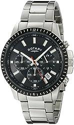 Rotary Men's gb00173/04 Analog Display Quartz Silver Watch