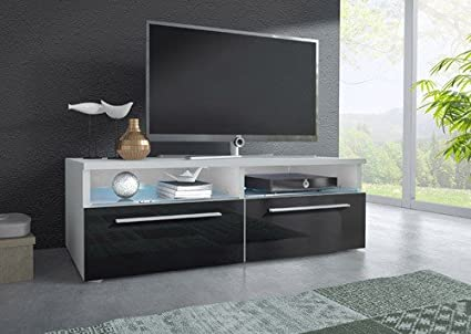 Mueble TV modelo Laura en color negro sin led (1m), (varios colores disponibles)