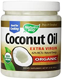 Nature\'s Way Extra Virgin Organic Coconut Oil, 32-Ounce