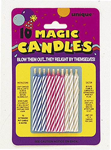 Magic Re-Lighting Candles 10pk - 1