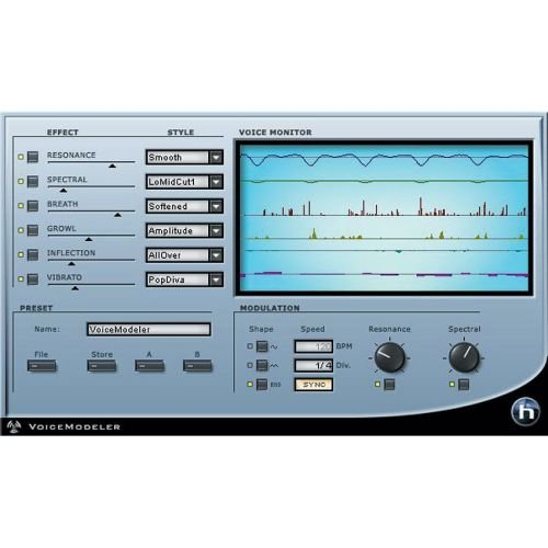 TC-Helicon Voice Modeler, Voice Modeling Plug-In