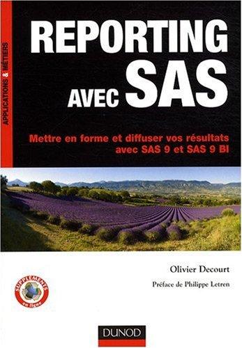 Reporting avec SAS