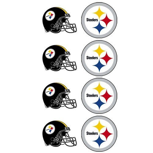 NFL Pittsburgh Steelers Face Tattoos, 8-piece Set at SteelerMania
