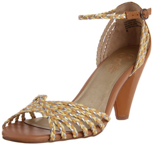 Seychelles Women's You Started Somethin Ankle-Strap Sandal,Tan Multi,6 M US