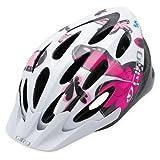 GIRO(ジロ) フルム(FLUME) WHITE/PINK BUTTERFLIES ホワイト/ピンクバタフライズ サイズ50-57� 子供用ヘルメット