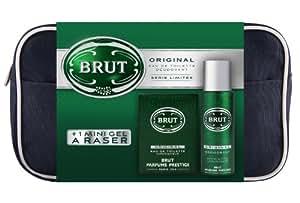 Coffret Brut 3 Produits Eau de Toilette + Déodorant Original + Mini Gel Rasage