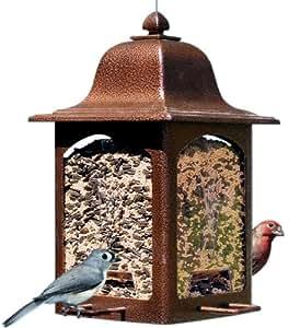 Birdscapes 367 Tulip Garden Lantern Bird Feeder
