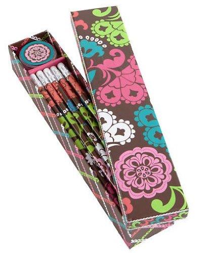 Vera Bradley Pencil Box ~ Lola