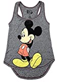 Disney Mickey Mouse Racerback Tank top Grey Heather